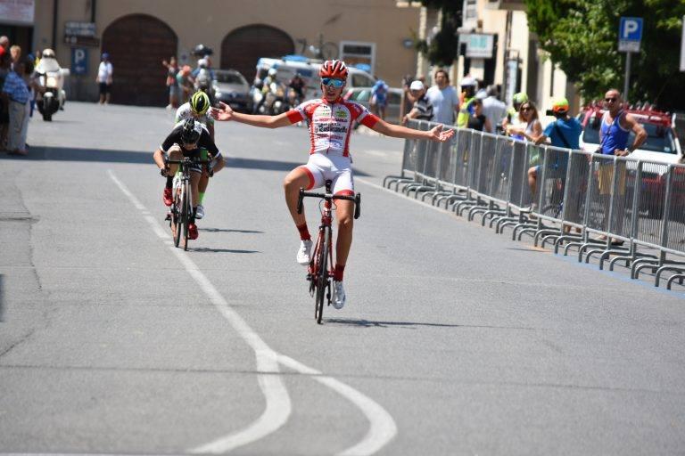Federico Galeotti vince a Borgo San Lorenzo