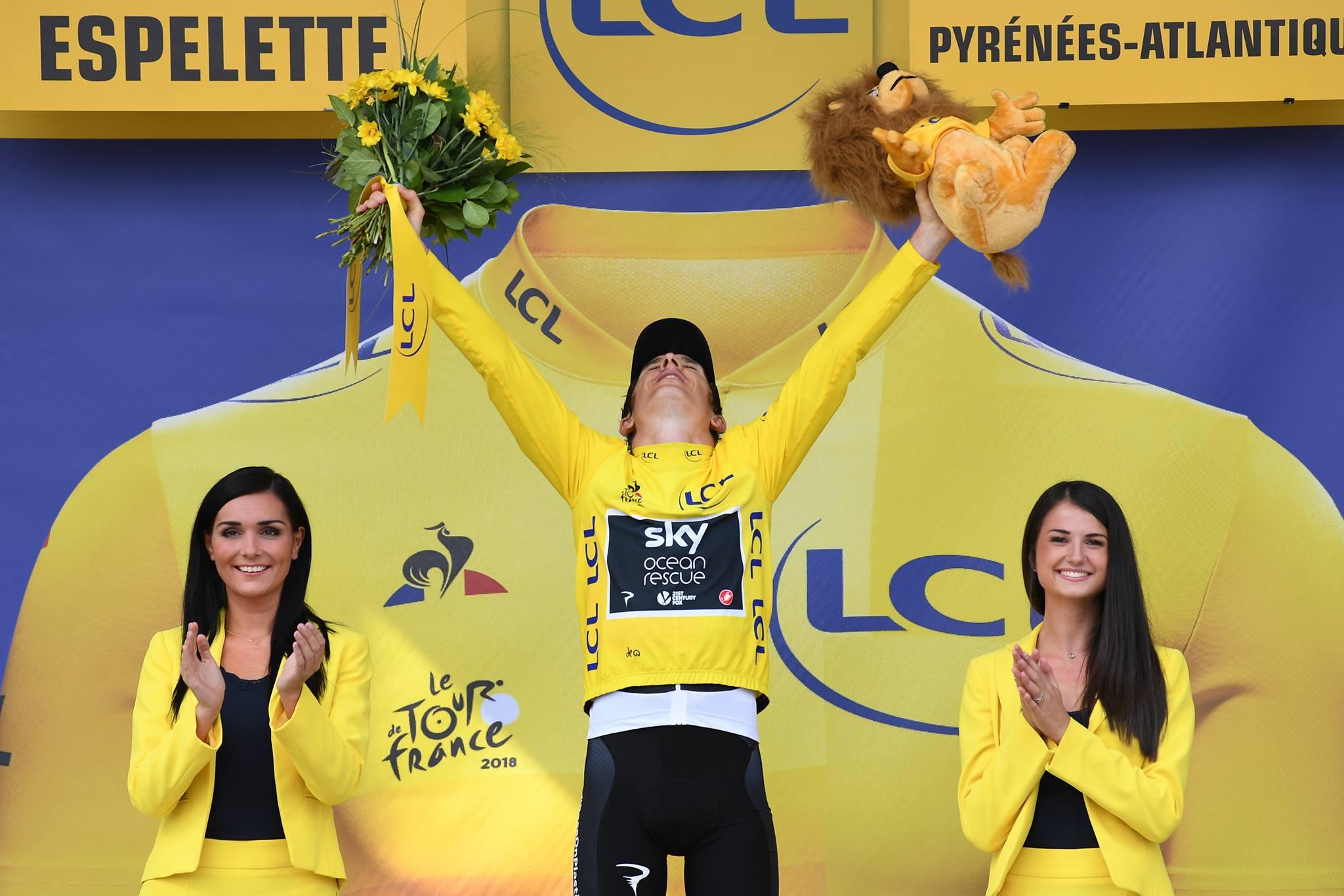 Graint Thomas ha praticamente vinto il Tour de France 2018