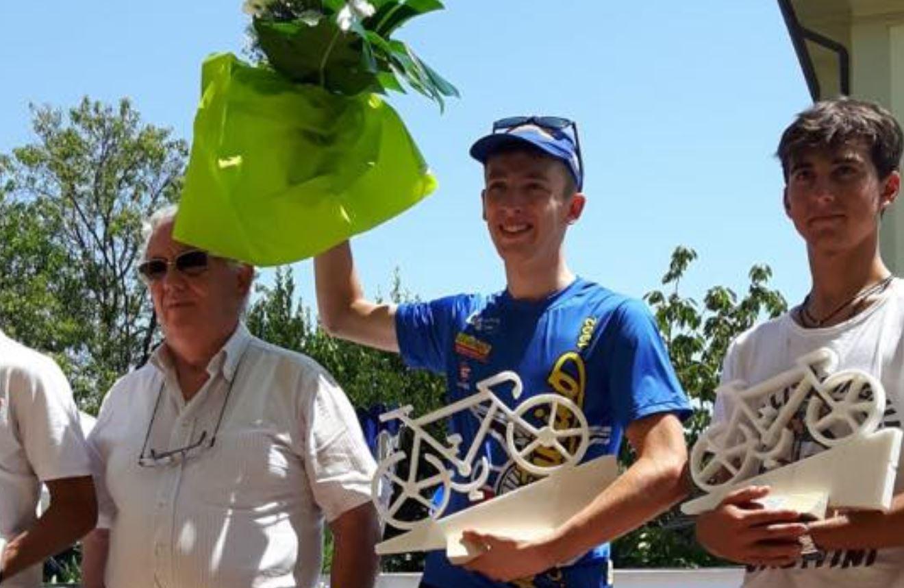 Leonardo Giani vincitore a Ceparana