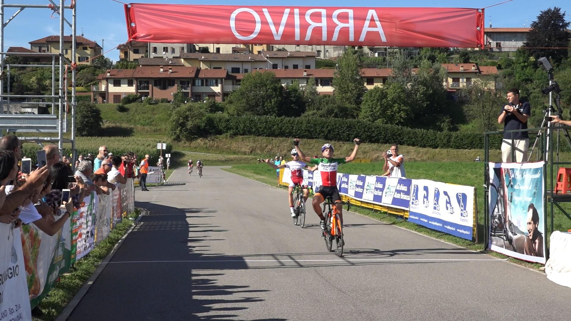 Matteo Fiorin vince il Lombardia Giovani tra gli Esordienti
