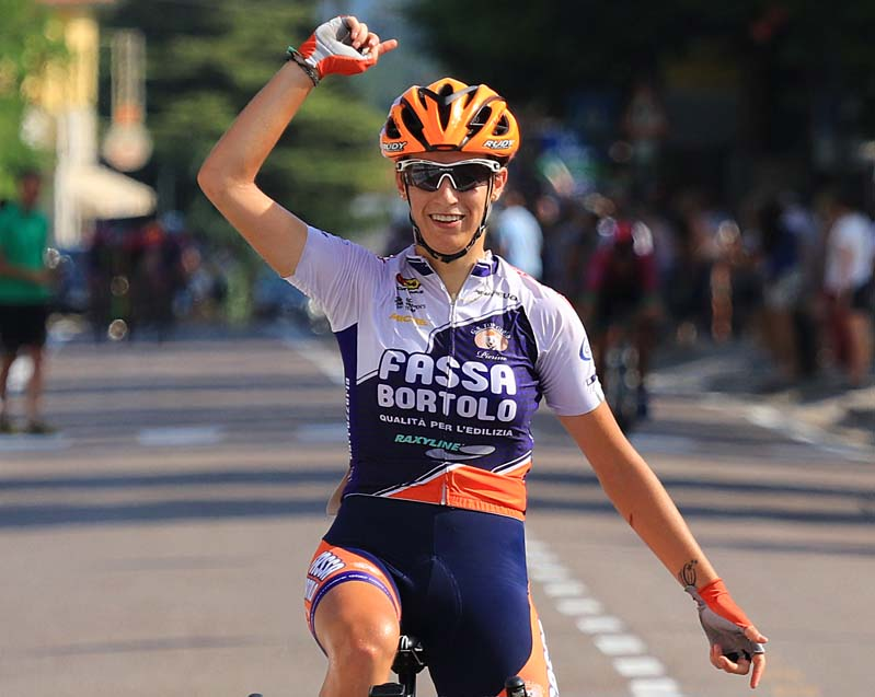La vittoria di Nadia Quagliotto a Tarzo