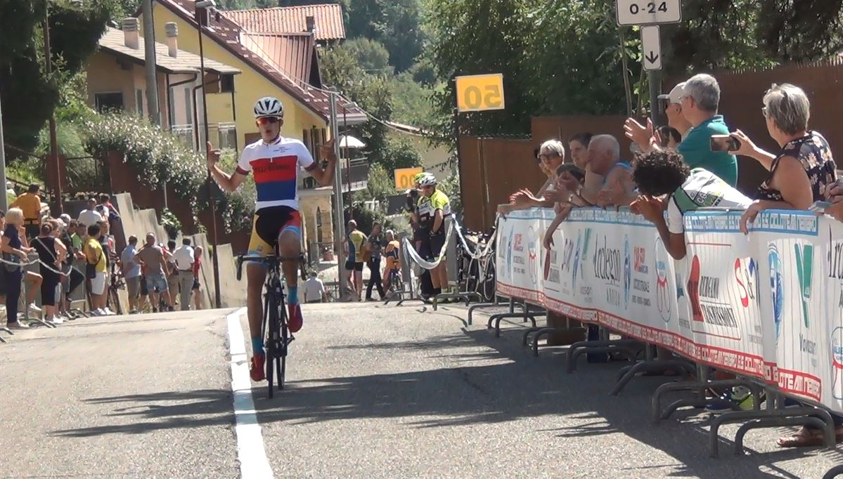 Mathias Vacek vince la Nembro-Lonno 2018