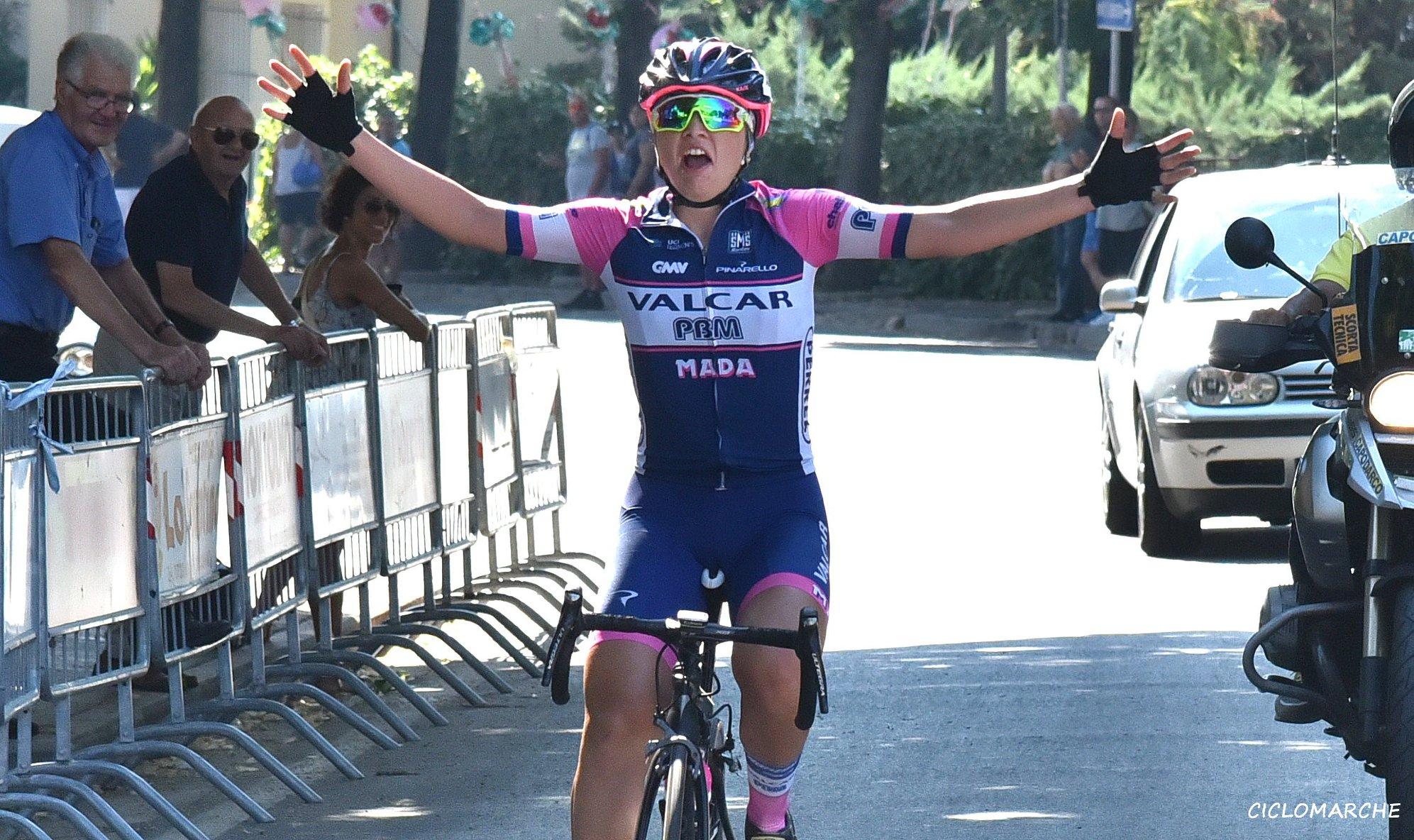Federica Piergiovanni vince la gara Donne Junior di Corridonia
