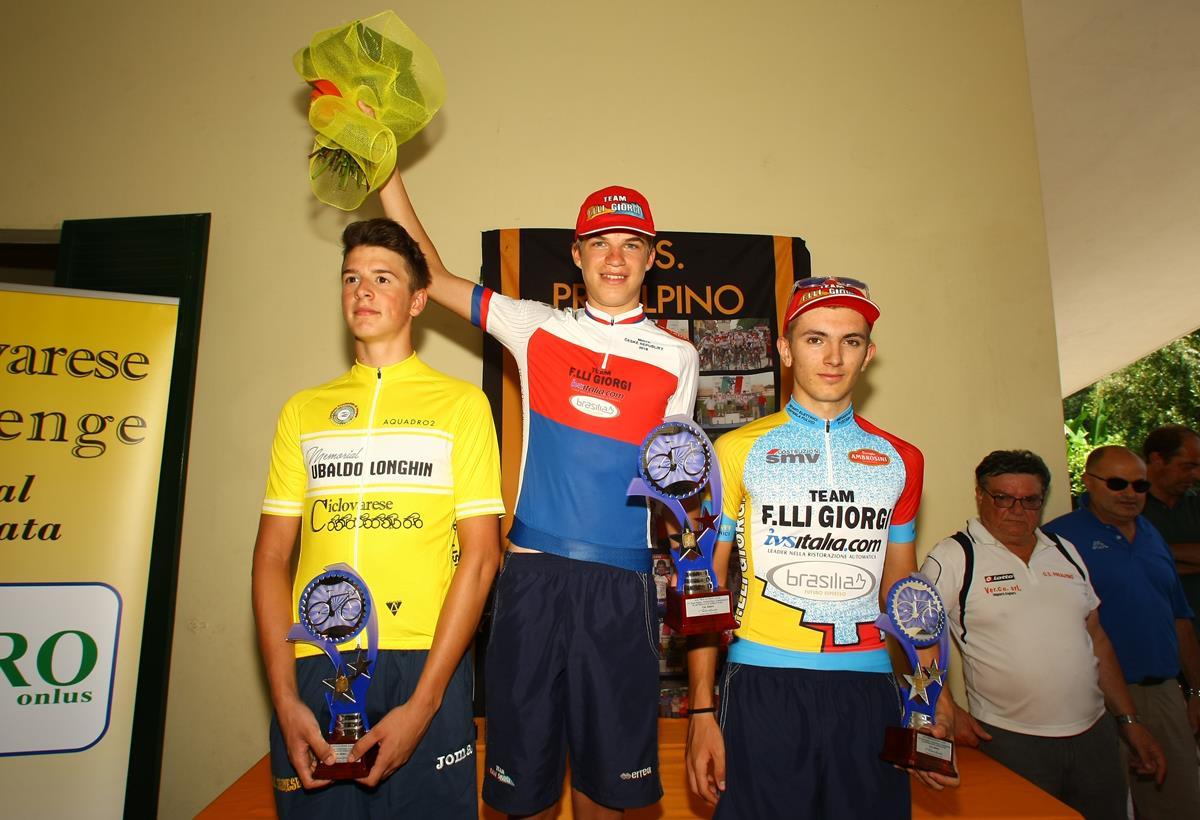 Il podio del 33° Trofeo Tosco-Umbro