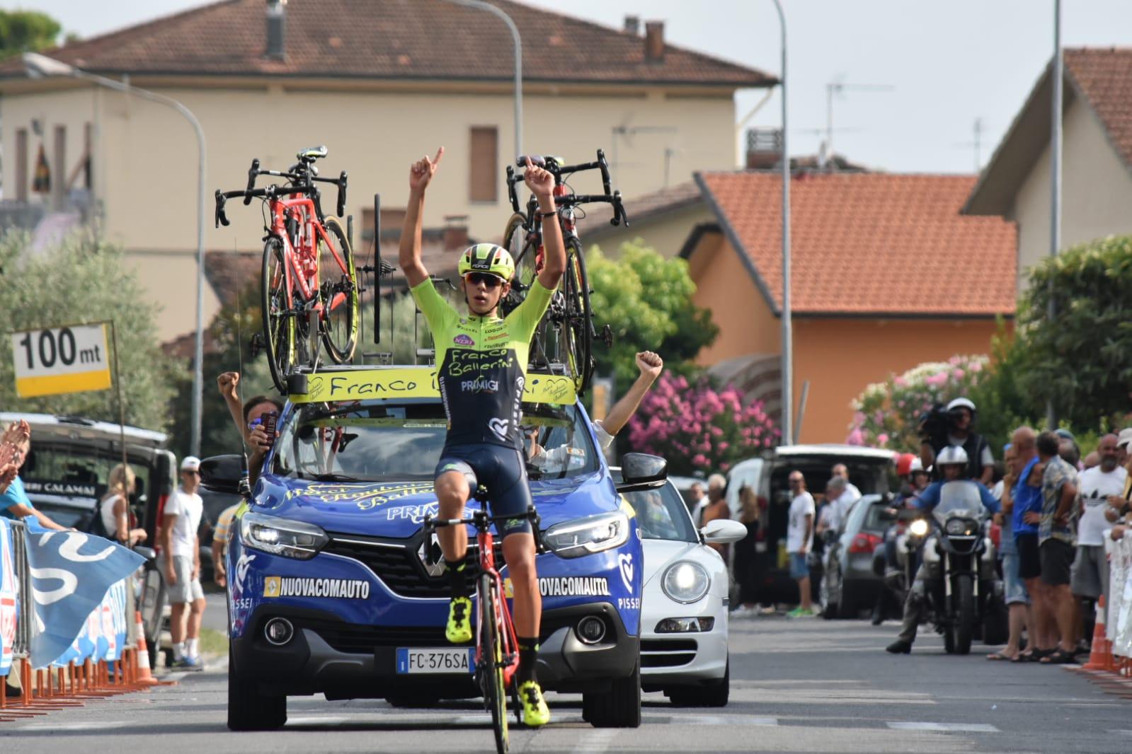 Antonio Tiberi vince a Vinci