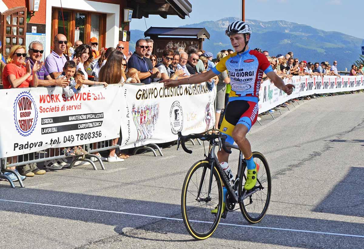 Karel Vacek vince la Noventa Padovana - Enego