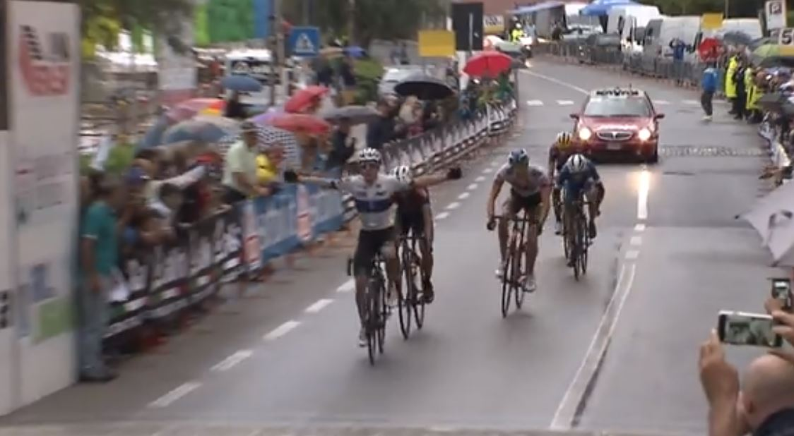 Remco Evenepoel vince la prima semitappa della prima tappa del Giro della Lunigiana