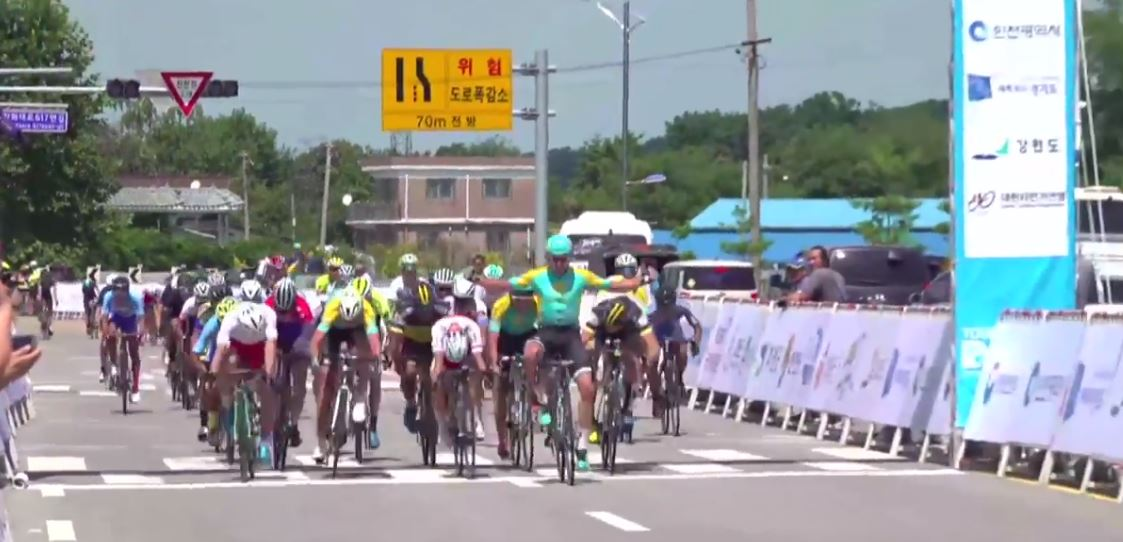 Gleb Brussenskiy vince la prima tappa del Tour de DMZ