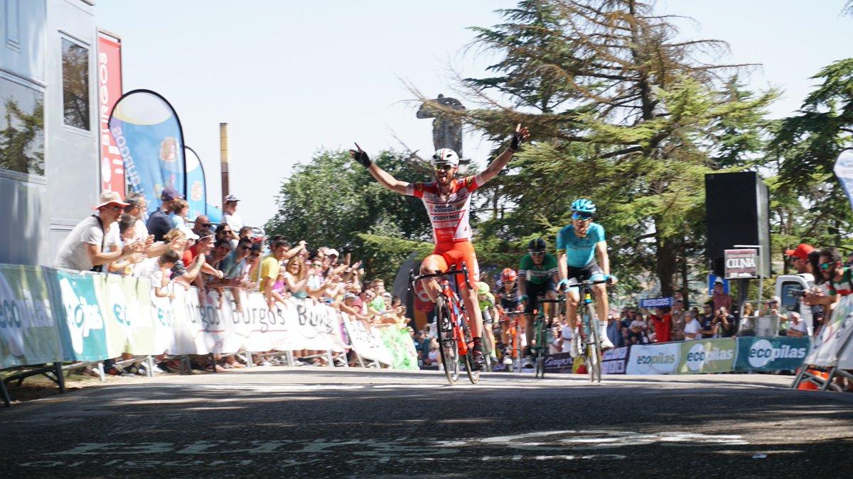 Francesco Gavazzi vince la prima tappa della Vuelta a Burgos