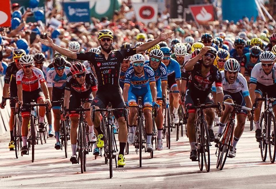 Riccardo Stacchiotti vince la prima tappa della Volta a Portugal 2018