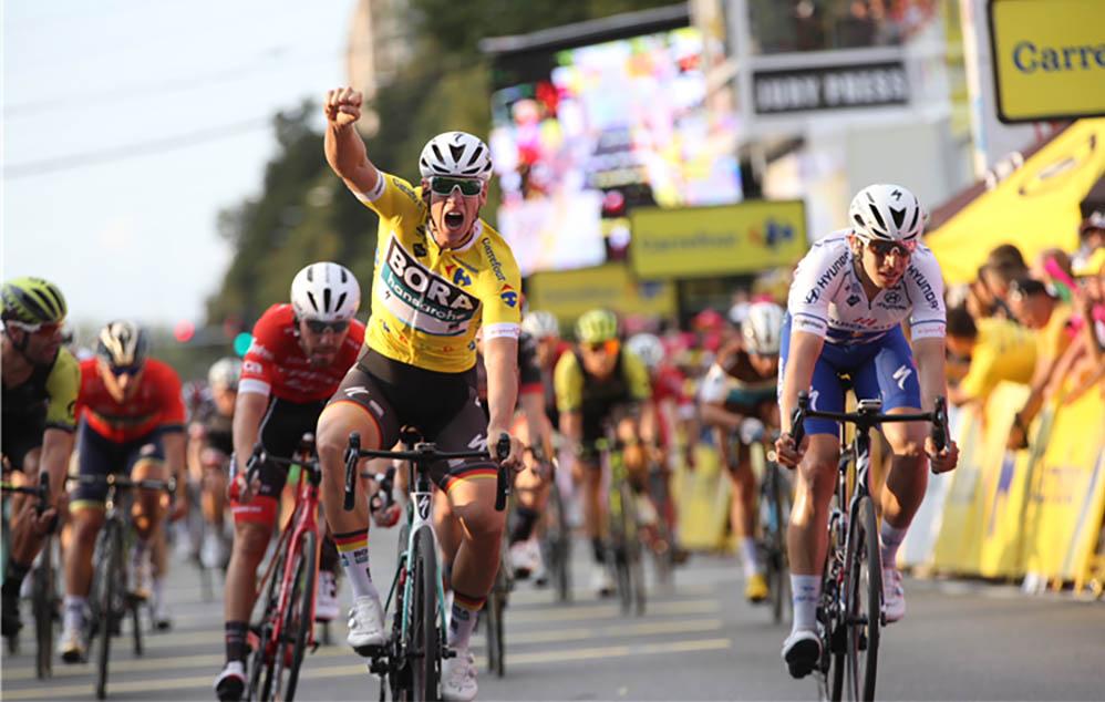 Pascal Ackermann concede il bis nella seconda tappa del Tour de Pologne 2018