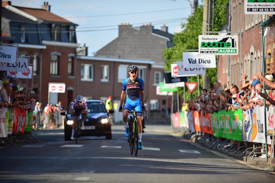 Il danese Frederik Thomsen vince la seconda semitappa della seconda tappa della Aubel – Thimister – Stavelot