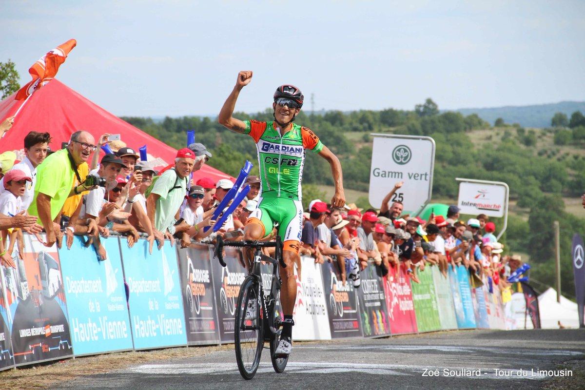 Luca Wackermann vince la seconda tappa del Tour du Limousin