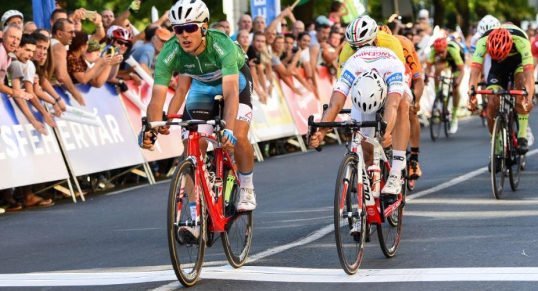 Matteo Moschetti vince la seconda tappa del Giro d'Ungheria