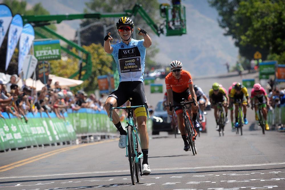 Sepp Kuss vince la seconda tappa del Tour of Utah