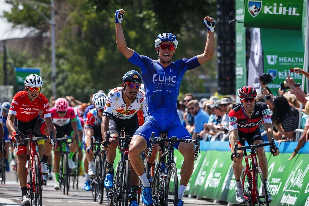 Travis McCabe vince la prima tappa del Tour of Utah