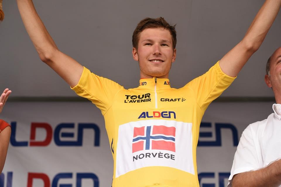 Il norvegese Hakon Lunder Aalrust nuovo leader del Tour de L'Avenir 2018