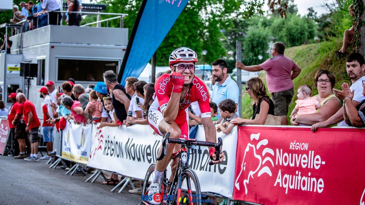 Nicolas Edet vince la terza tappa del Tour du Limousin 2018