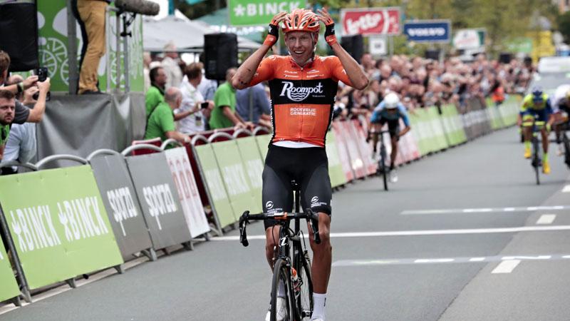 Taco van der Hoorn vince la terza tappa del Binck Bank Tour 2018