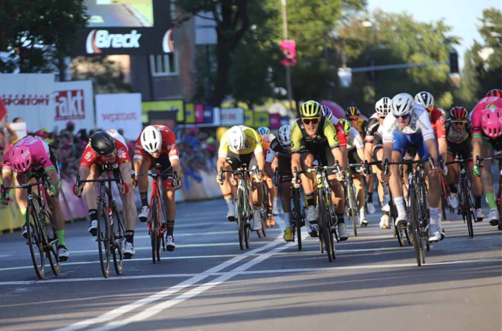 Alvaro Hodeg vince la terza tappa del Tour de Pologne