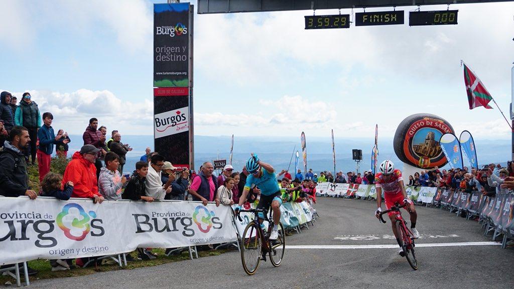 Miguel Angel Lopez vince la terza tappa della Vuelta a Burgos 2018