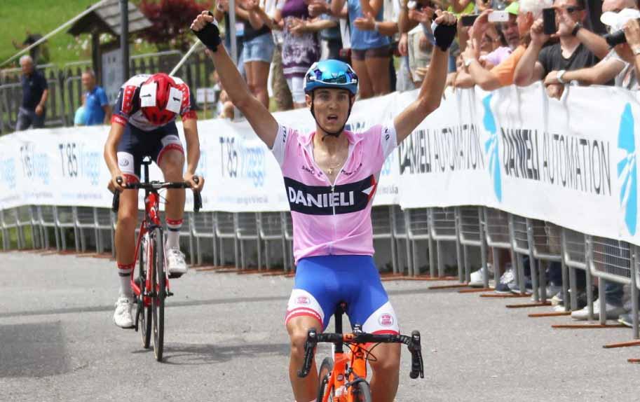 Gabriele Benedetti vince l'ultima tappa e mette il sigillo sul 1° Giro del Nordest