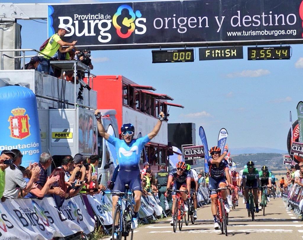 Carlos Barbero vince la quarta tappa della Vuelta a Burgos 2018
