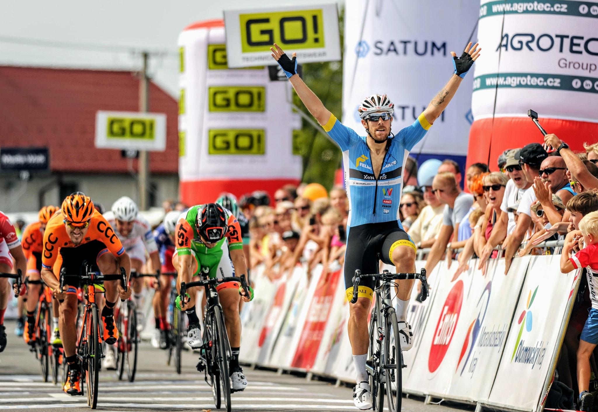 Filippo Fortin vince la quarta tappa del Czech Cycling Tour