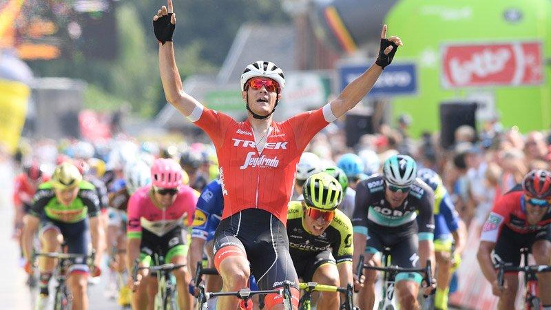 Jasper Stuyven vince la quarta tappa del BinckBank Tour