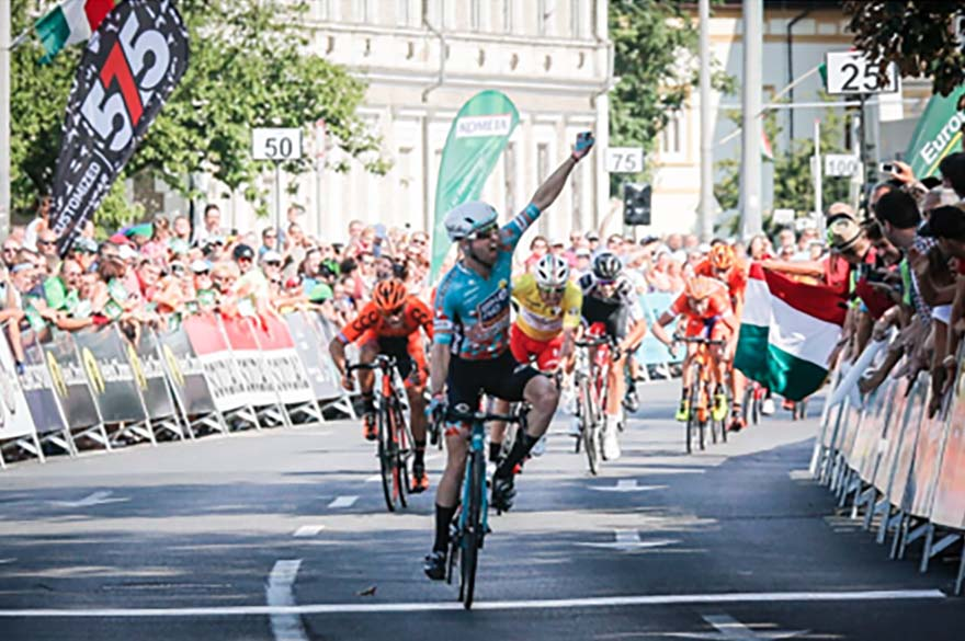 Nikodemus Holler batte Manuel Belletti nella quarta tappa del Giro d'Ungheria