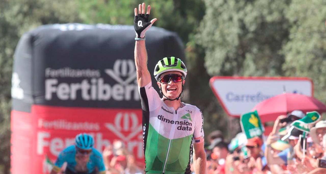 Ben King vince la quarta tappa della Vuelta a Espana 2018