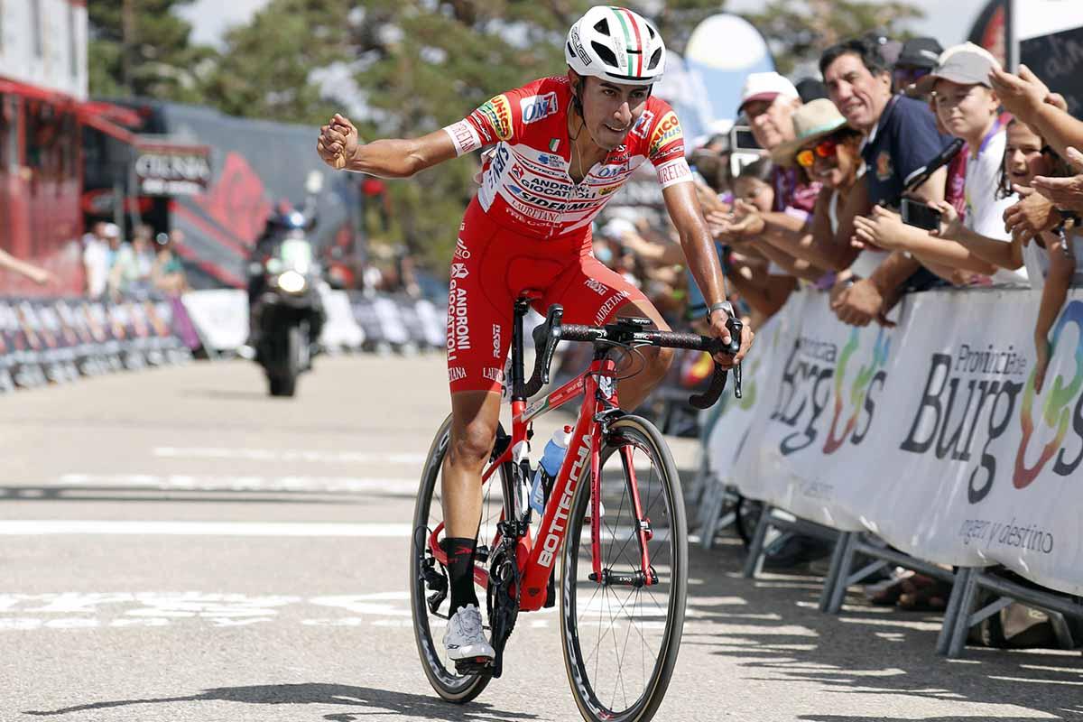 Ivan Sosa vince la quinta tappa e la classifica finale della Vuelta a Burgos 2018