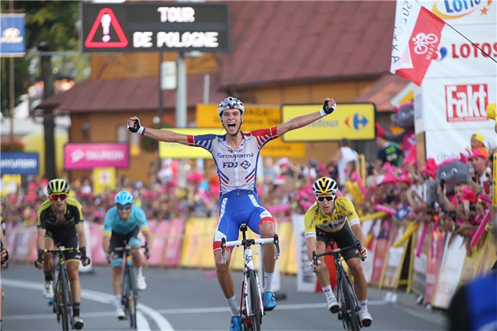 Georg Preidler vince la sesta tappa del Tour de Pologne