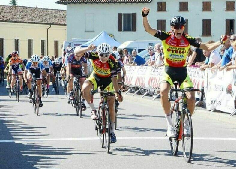Tripletta dell'Aspiratori Otelli a Genivolta e vittoria di Francesco Calì