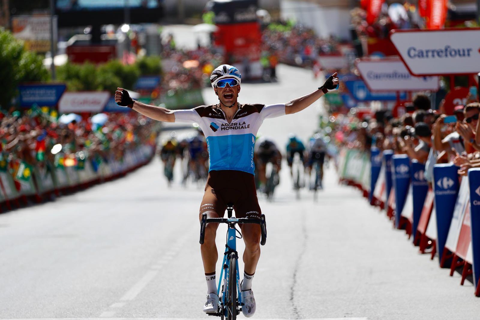 Tony Gallopin vince la settima tappa della Vuelta a Espana