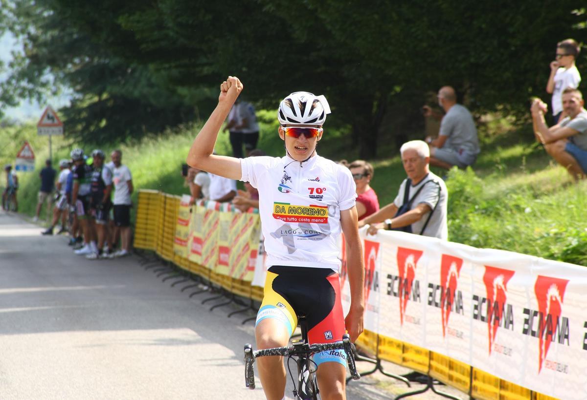 Mathias Vacek vince la terza prova del Giro della Provincia di Como a Sirtori