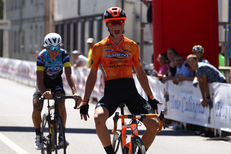 Francesco Carollo vince a Campospinoso
