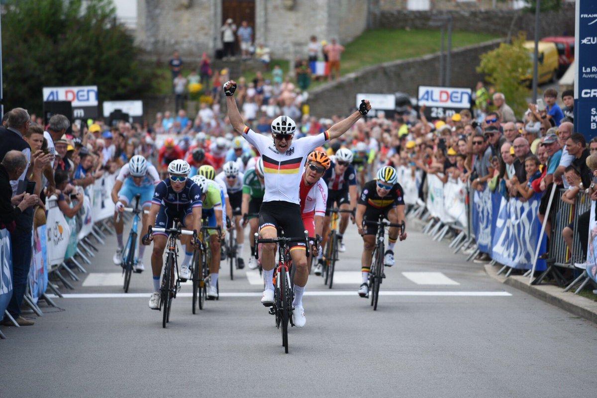 Max Kanter vince la prima tappa del Tour de L'Avenir 2018