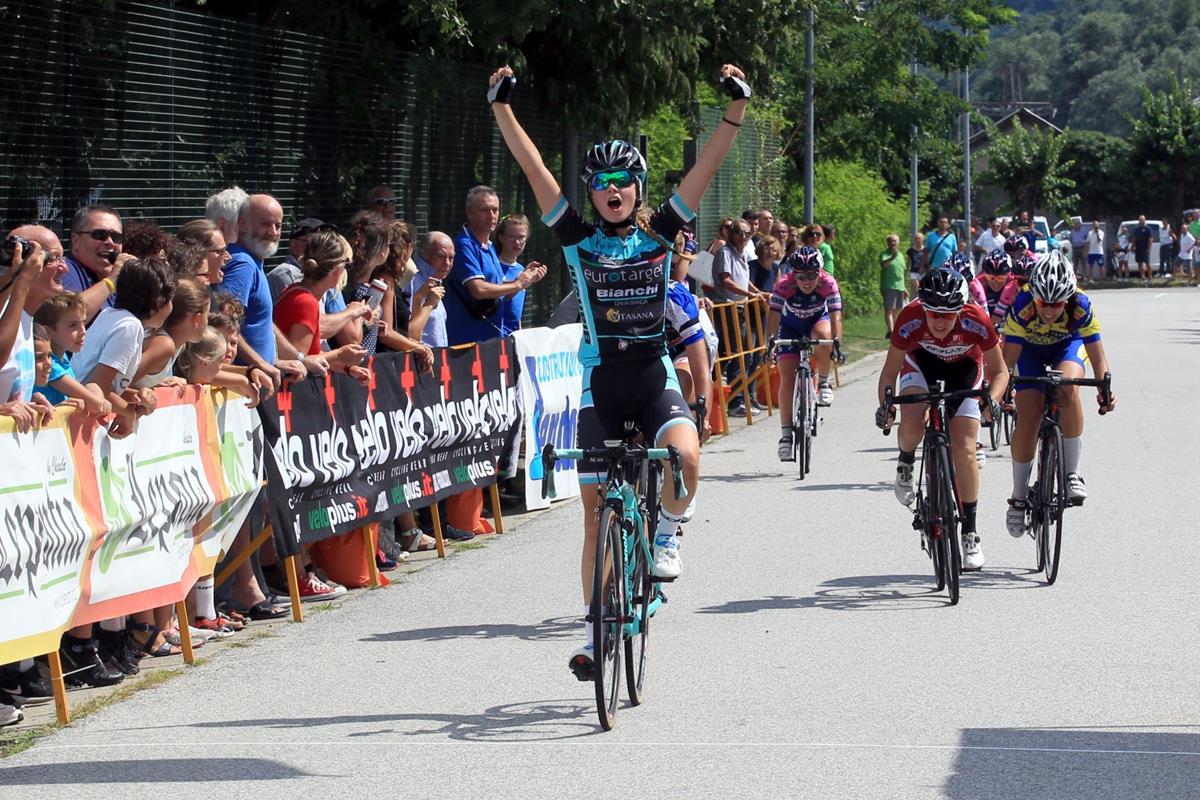 Greta Tebaldi vince a Pieve Vergonte