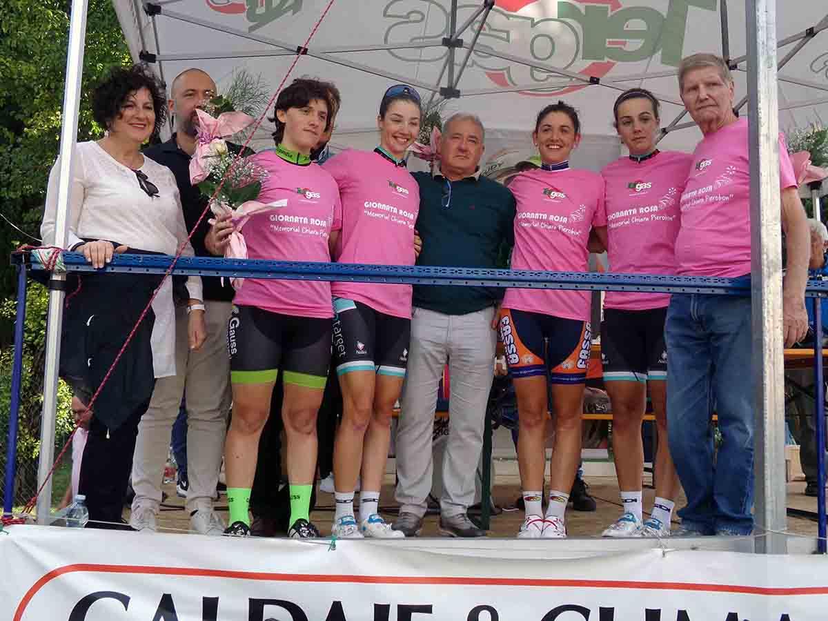 Il podio Open di Noventa di Piave (foto F- Coppola)