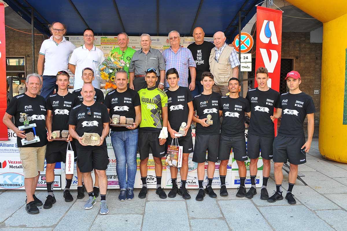 Festa per la GB Junior Team a Borgomanero