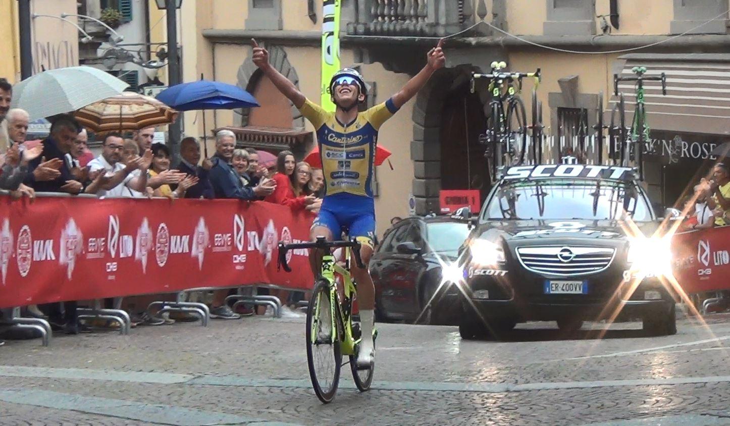 La vittoria di Alessandro Fancellu al Criterium 648 di Clusone