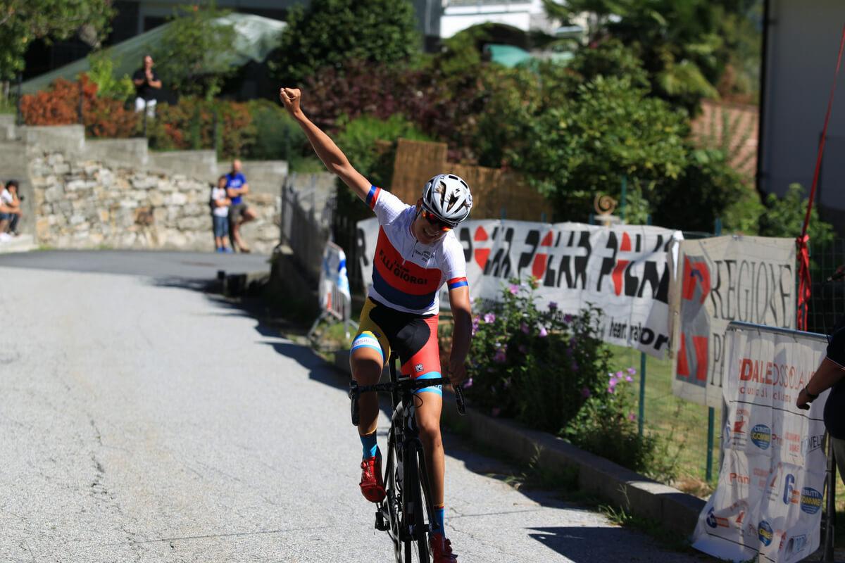 Mathias Vacek vince in solitaria a Fomarco tra gli Allievi