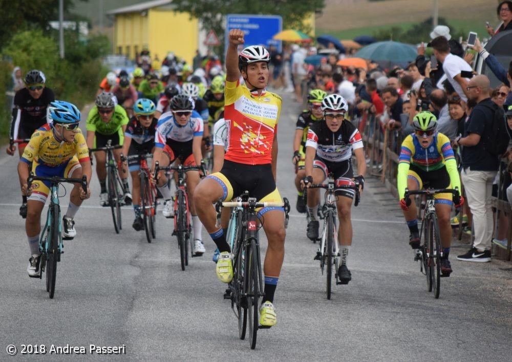 Lorenzo Montanari vince la gara Esordienti 2° anno di Colfiorito
