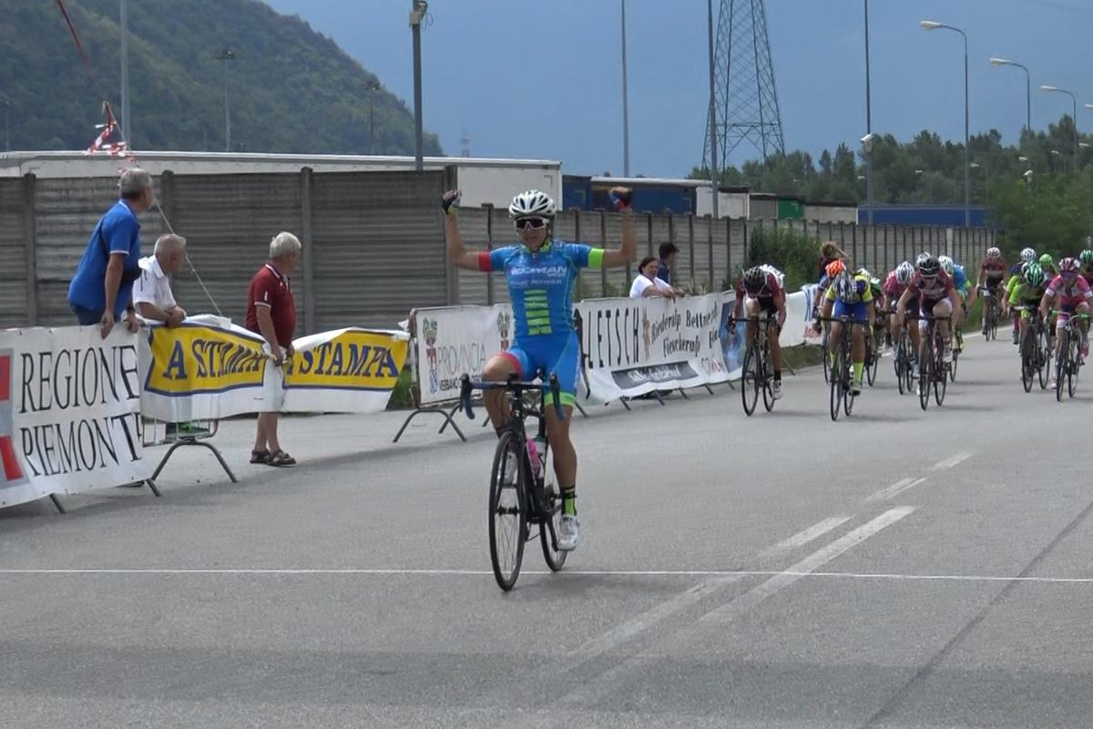 Carlotta Borello vince tra le Allieve a Villadossola