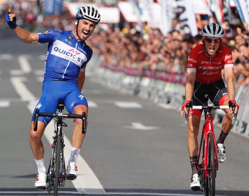 Julian Alaphilippe vince la Clasica Ciclista San Sebastian 2018