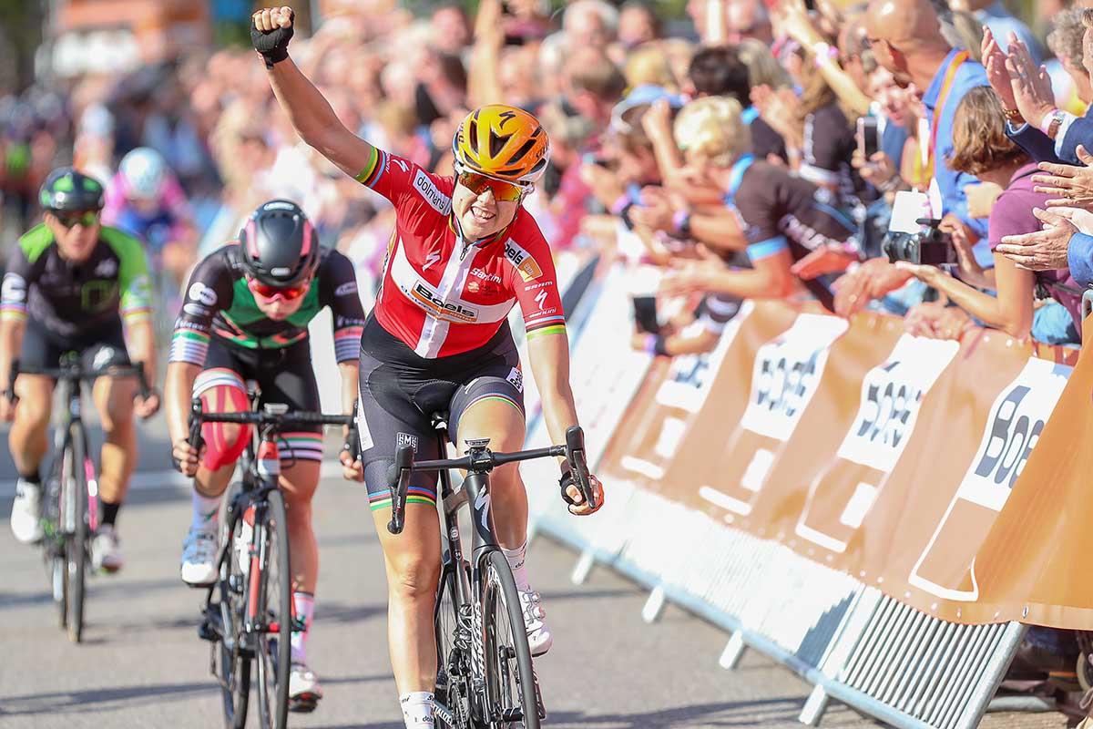 Amalie Dideriksen vince la terza tappa del Boels Ladies Tour 2018