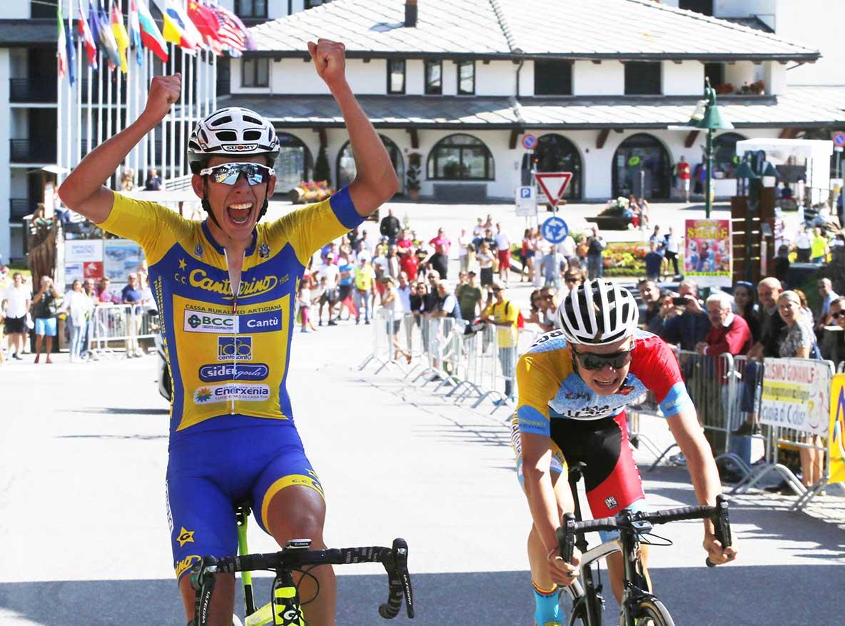 Alessandro Fancellu vince al Sestriere