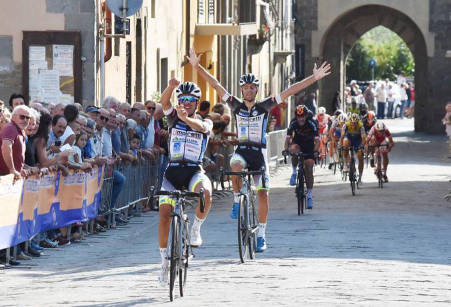 Francesco Baldie Andrea Di Renzo firmano la doppietta della Porto Sant'Elpidio al Giro delle Balze 2018