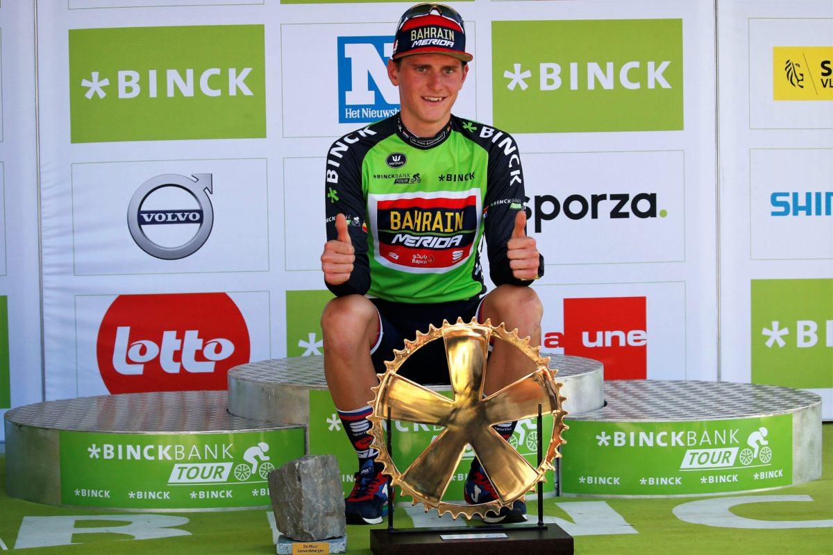 Matej Mohoric vince il BinckBank Tour 2018